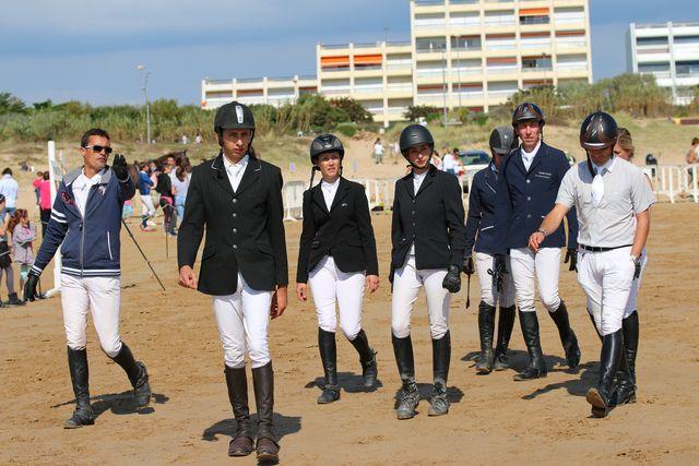 L'equipe de concours de l4ecurie des Lumieres