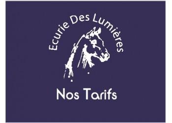 Nos Tarifs 2017