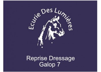 Reprise dressage Galop 7